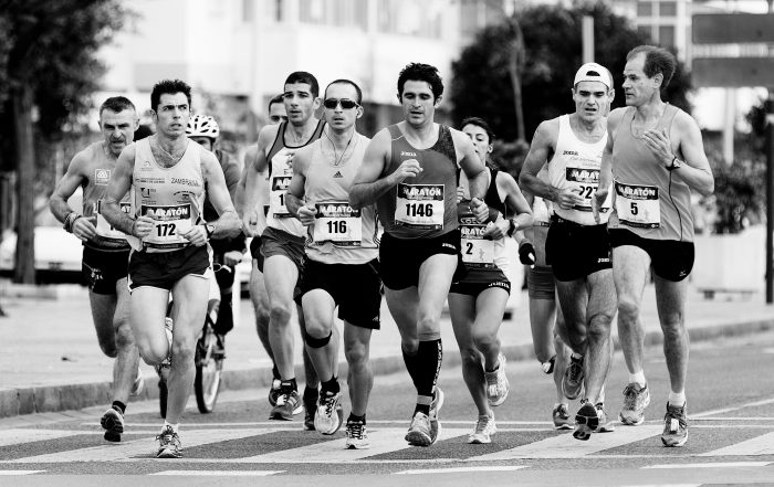 Runners need to pay special attention to their dental health